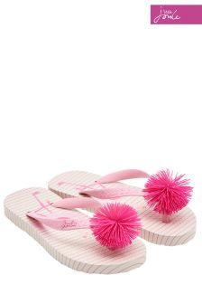 Joules Pink Flamingo Flip Flop