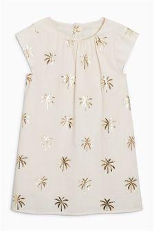 Palm Tree Dress (3-16yrs)