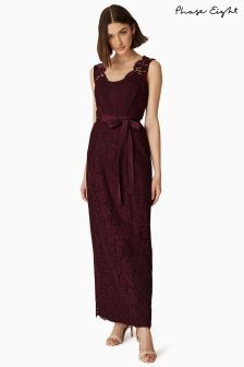 Phase Eight Berry Amy Lace Dress