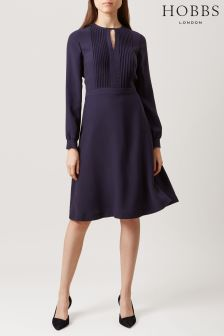 Hobbs Blue Angelica Dress