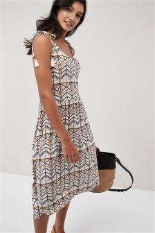 Midi Volume Dress