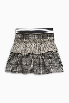 Mix Heritage Ruffle Skirt (3-16yrs)