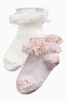 Socks Two Pack (Older Girls)