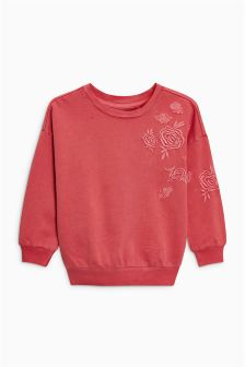 Embroidered Sweatshirt (3-16yrs)