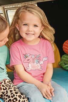 Sequin Unicorn T-Shirt (3mths-6yrs)