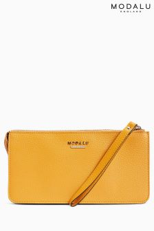 Modalu Golden Yellow Rumer Wristlet