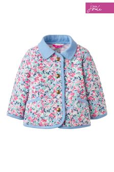 Joules Ditsy Quilted Jacket