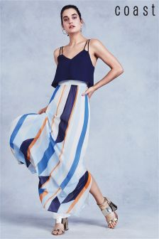Coast Multi Suri Striped Maxi Dress