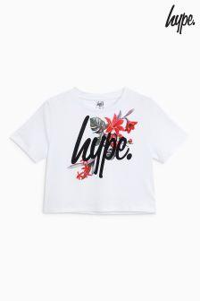 Hype. Printed Crop Tee