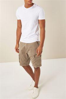 Garment Dyed Cargo Shorts
