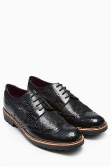 Textured Brogue