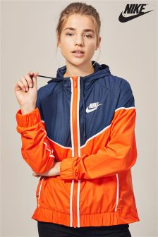 Nike Orange/Navy Jacket