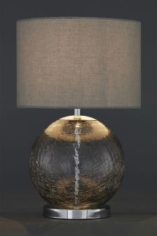Crackle Glass Table Lamp