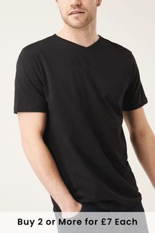 Buy Men's T-Shirts Black from the Next UK online shop