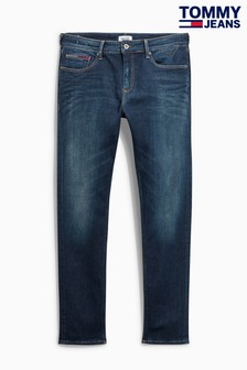 Hilfiger Denim Dark Blue Slim Tapered Steve Jean