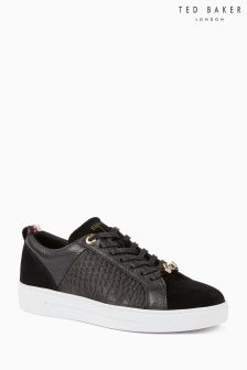Ted Baker Black Lurex Kulei Trainer