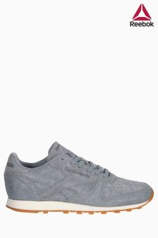 Reebok Classics Grey Classic Leather Clear Exotics