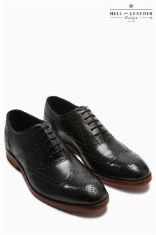 Leather Sole Brogue