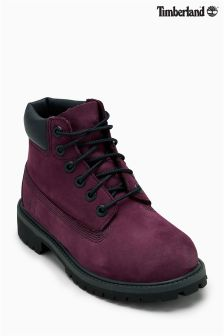 """Timberland® Burgundy 6"""" Premium Waterproof Boot"""