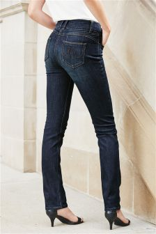 High Waist Enhancer Slim Jeans