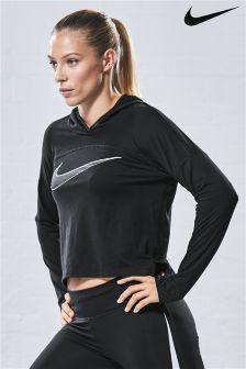 Nike Black Dry Logo Hoody