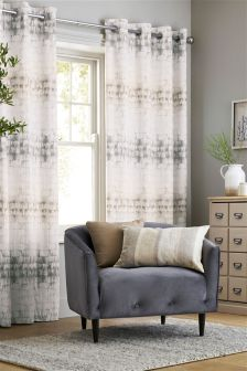 Bark Ombre Studio* Eyelet Curtains