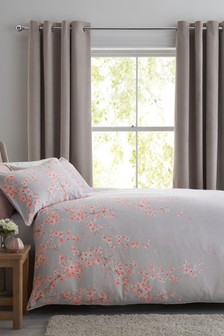 Cotton Sateen Blossom Bed Set