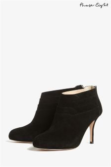Phase Eight Black Emily Ankle Boot