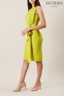 Hobbs Yellow Betsy Dress