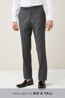Signature Italian Wool Suit: Trousers