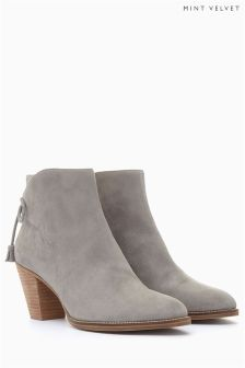 Mint Velvet Grey Ankle Boot