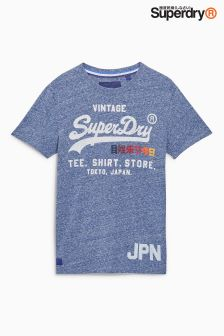 Superdry Chambray Shirt Shop Surf Tee