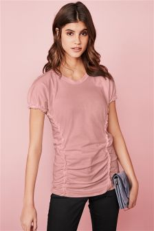 Ruched Detail Tee