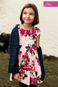 Joules Chantelle Navy Chenille Cardigan