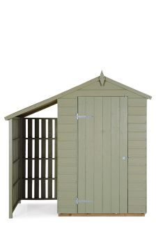 Oxford Lean To Shed