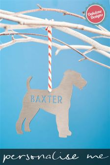 Personalised Pet Christmas Tree Decoration By Oakdene
