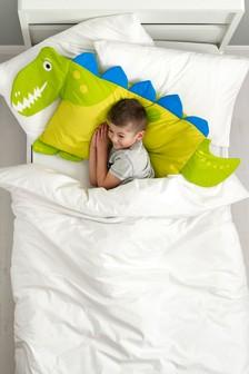 Dinosaur Shaped Pillowcase