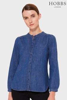 Boden Chambray Canvas Mary Jane