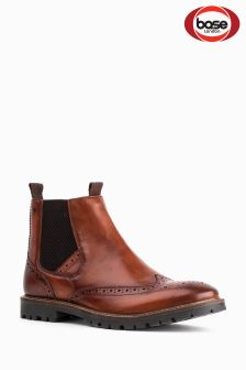 Base London Tan Bosworth Chelsea Boot