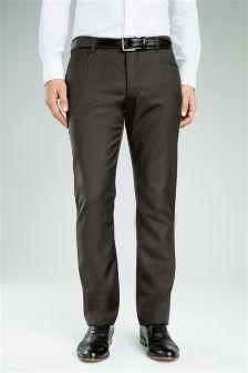 Wool Blend Jean Trousers