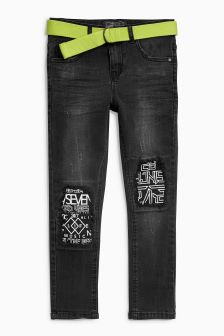 Patch Rip Knee Jeans (3-16yrs)