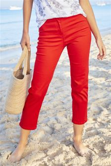 Parallel Cropped Jeans