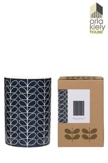 Orla Kiely Linear Stem Slate Utensil Pot