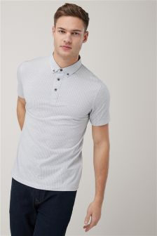 Pattern Polos Two Pack
