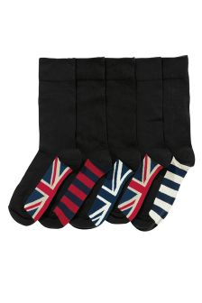 Union Jack Flag Socks Five Pack