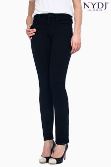 NYDJ Black Slim Boot Cut Jean Petite Length
