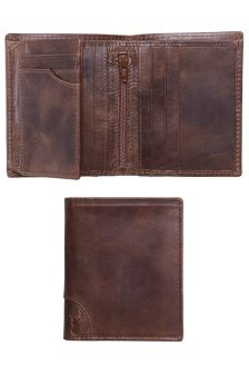 Brown Leather Multi Card Wallet