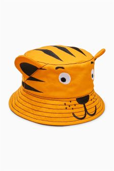 Tiger Bucket Hat (Younger Boys)