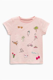Embellished T-Shirt (3mths-6yrs)