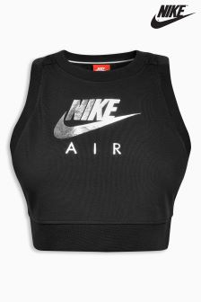 Nike Black Crop Air Tank